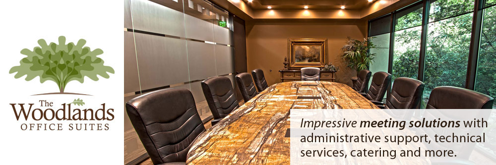 The Woodlands Office Suites boast outstanding meeting facilities.