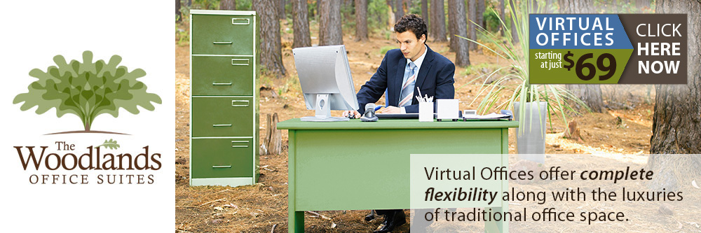 Sign up today for a virtual office with The Woodlands Office Suites.